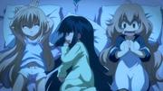 リン、クロ、ミミの三人 ( 「こどものじかん」 OVA より )