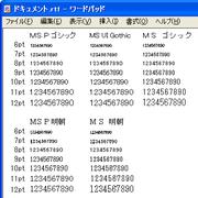 JIS2004 対応フォント入り