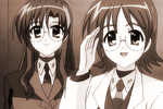 Nanoha15_shario_marie01a_bw
